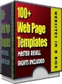 Thumbnail 100+ great looking Professional Webpage Templates