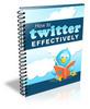 Thumbnail  The Twitter Factor PLR Articles
