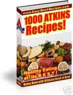 Thumbnail ATKINS DIET RECIPE EBOOK RESELL