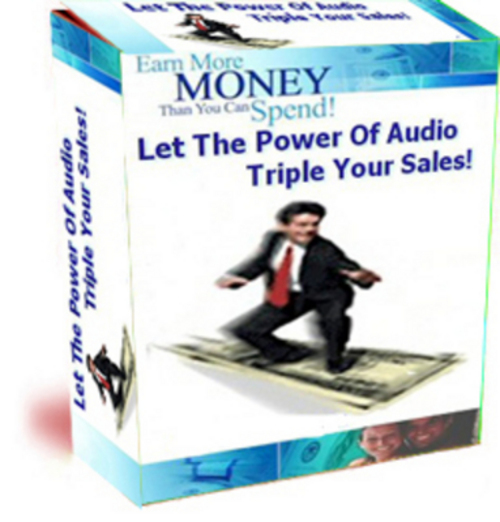 Product picture Audio Has The Ability To Triple Your  Websites Sales