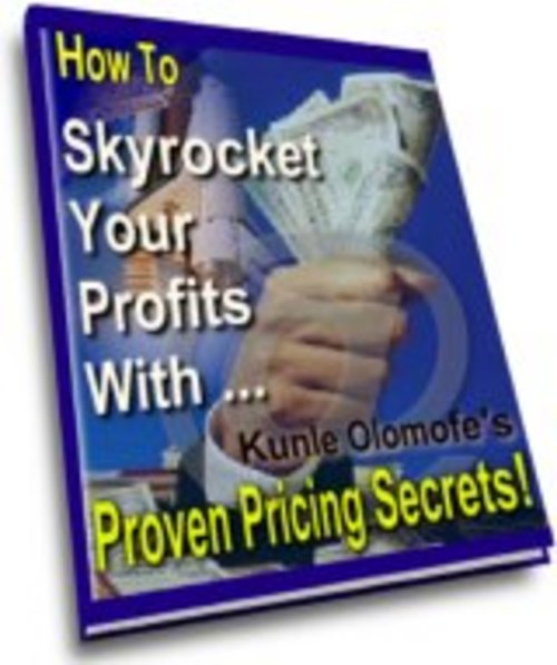 Product picture How would you like to Skyrocket your business profits