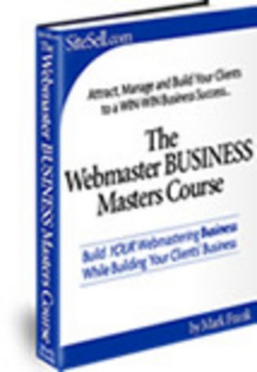 Product picture The Webmaster Business Master Course