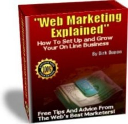Product picture Web Marketing Explained real-life-situation tips