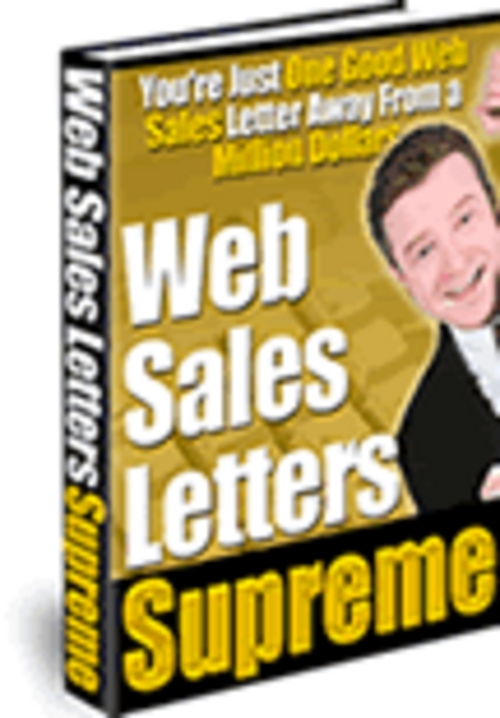Product picture  Successful Web Sales Letters