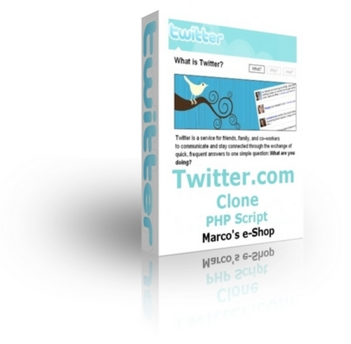 Product picture Twitter.com  PHP Script