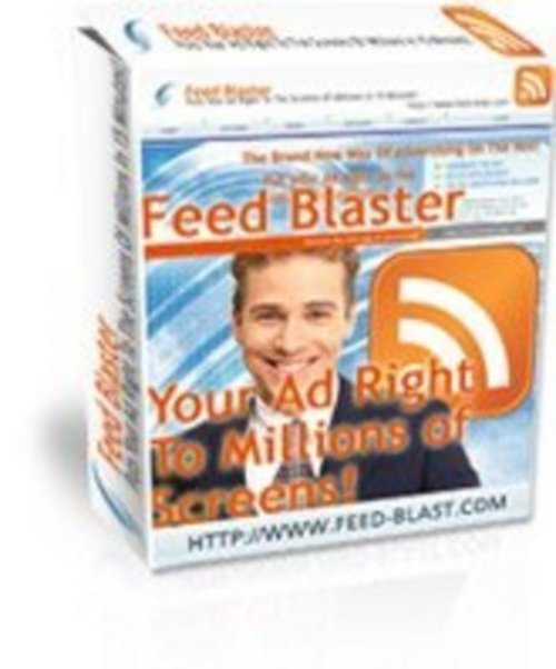 Product picture Feed Blaster   Get More Than 10 000 Visitors Per Day
